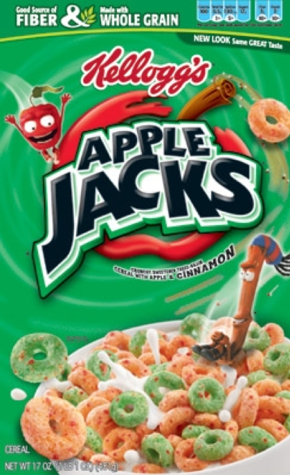 Apple Jacks Cereal Ingredients Kids' Cereal Apple Jacks